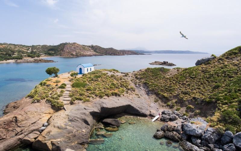 Agios Stefano drone